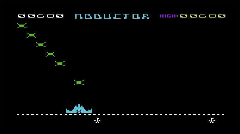 Abductor VIC-20 screenshot