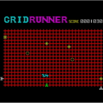 Gridrunner Spectrum screenshot