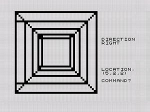 3D3D ZX81 screenshot