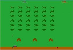 Beast Invaders 2600 screenshot