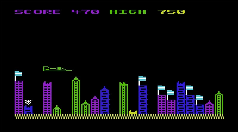 Blitzkrieg VIC-20 screenshot