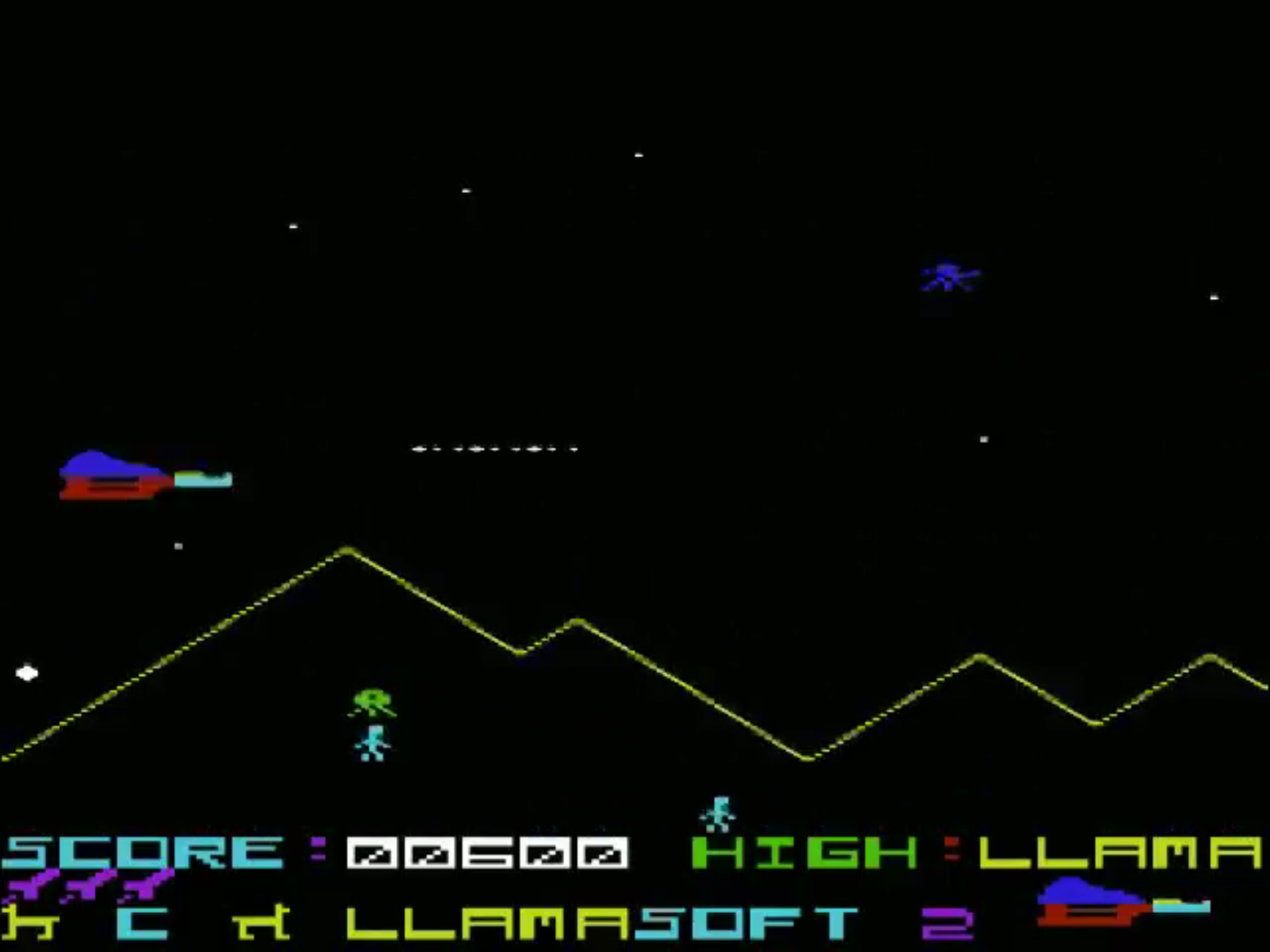 Defenda VIC-20 screenshot