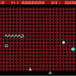 Gridrunner Atari 8 bit screenshot
