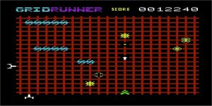 Gridrunner VIC-20 screenshot