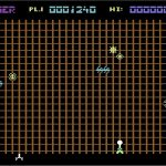 Gridrunner C64 screenshot