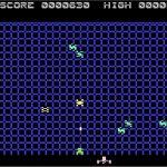 Gridrunner 2 Atari 8 bit screenshot