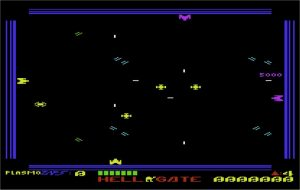 Hellgate VIC-20 screenshot