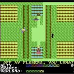 Hover Bovver C64 screenshot