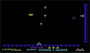 Laserzone VIC-20 screenshot