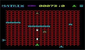 Matrix VIC-20 screenshot