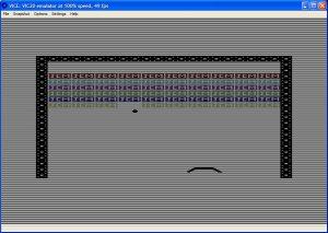 Micro Breakout VIC-20 screenshot