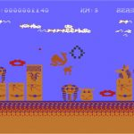 Revenge 2 Atari 8 bit screenshot