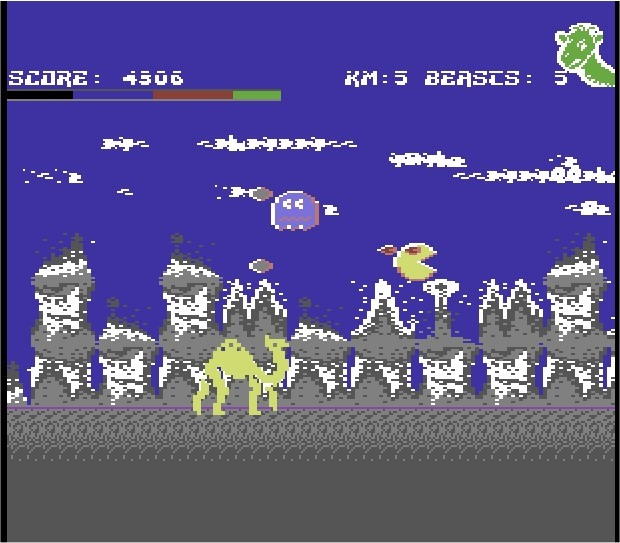 Revenge 2 C64 screenshot