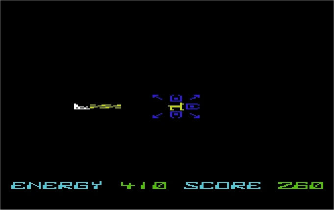 Space Zap VIC-20 screenshot