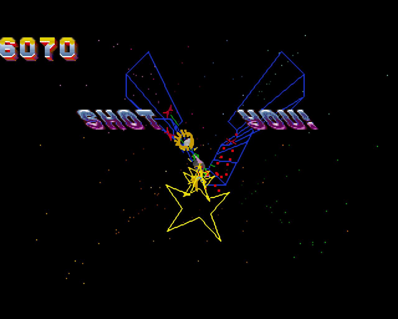Tempest 2000 PC DOS screenshot