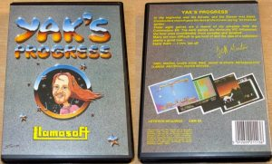 Yak's Progress C64 boxart