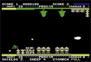 Sheep In Space C64 screenshot